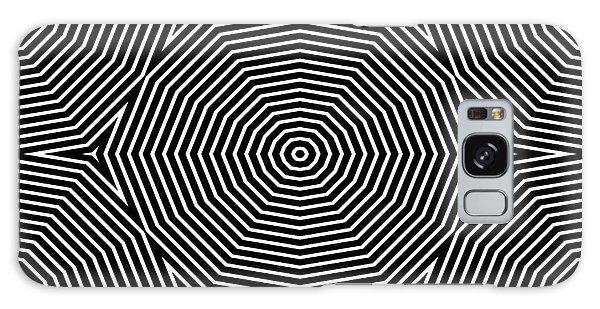 Fractal Design Galaxy Case - Op Art Only Symmetrical Shapes 04 by Cvadrat