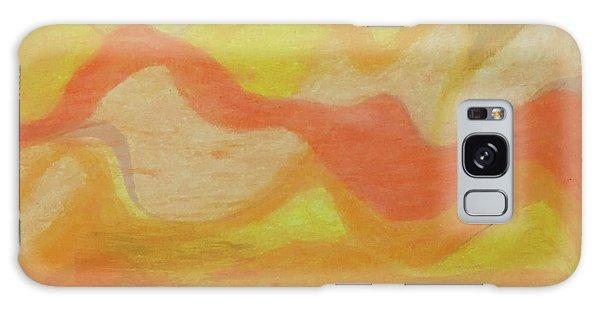 Orange Colors 1 Galaxy Case