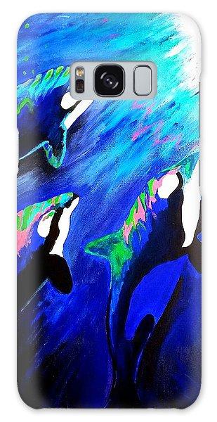 Orcas  Galaxy Case