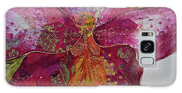 Orchid Galaxy Case - Orchid Passion II by Shadia Derbyshire