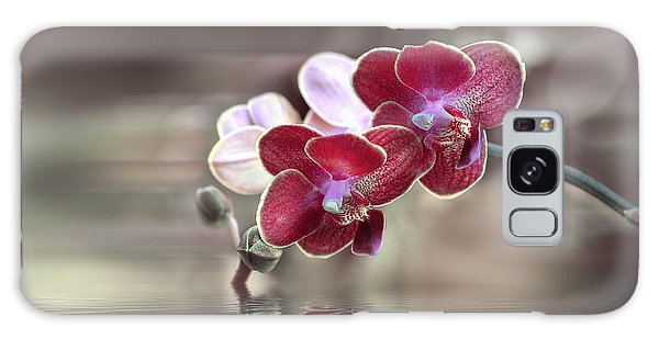 Orchid Reflection Galaxy Case