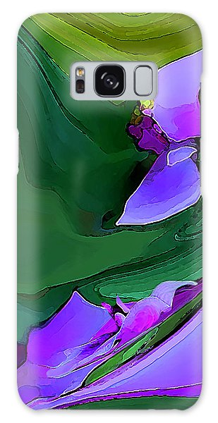 Orchids And Emeralds Galaxy Case