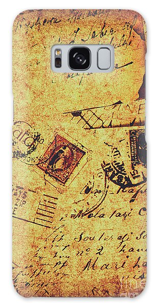 Weathered Galaxy Case - Ornate Postal Grunge by Jorgo Photography - Wall Art Gallery