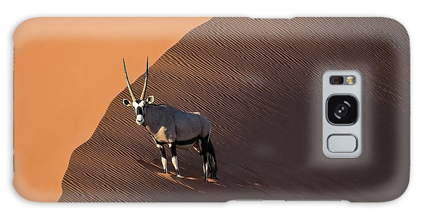 Oryx On The Edge, Namibia Galaxy Case