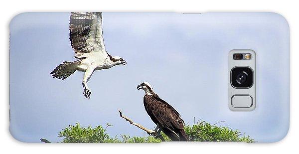 Ospreys At Blue Cypress Lake Galaxy Case