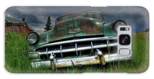Out To Pasture Galaxy Case