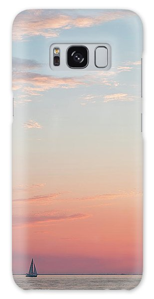 Galaxy Case featuring the photograph Outer Banks Sailboat Sunset by Nathan Bush