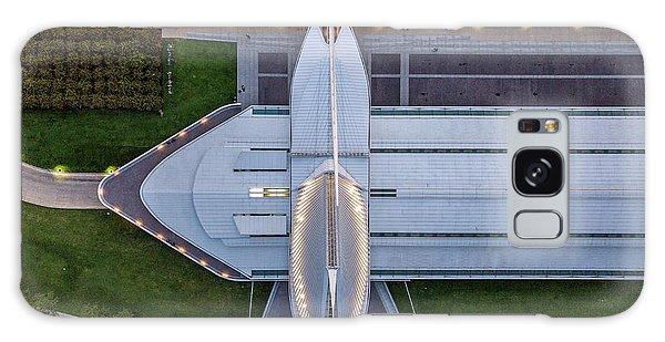 Galaxy Case featuring the photograph Over Milwaukee Art Museum by Randy Scherkenbach