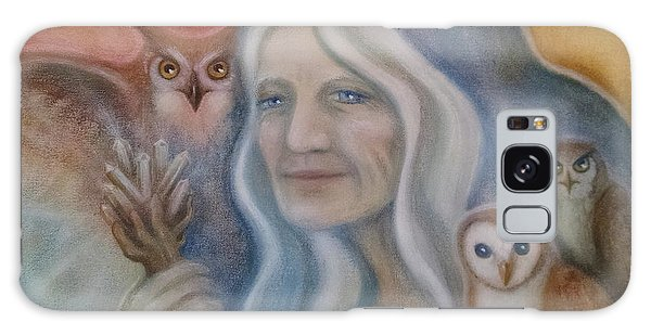 Owl Crone Galaxy Case
