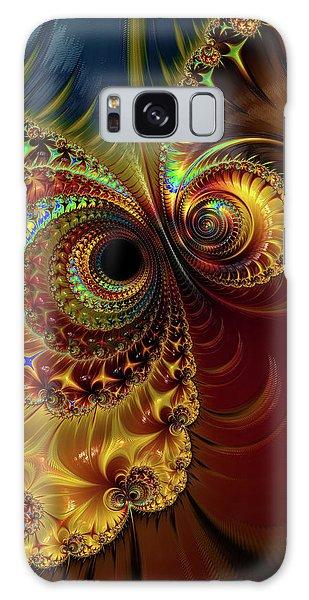 Owl Eyes Galaxy Case