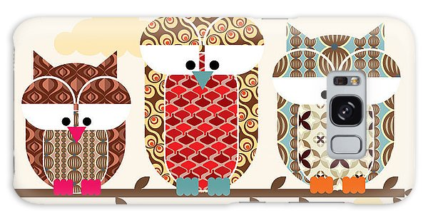Claws Galaxy Case - Owl Vectorillustration by Lyeyee