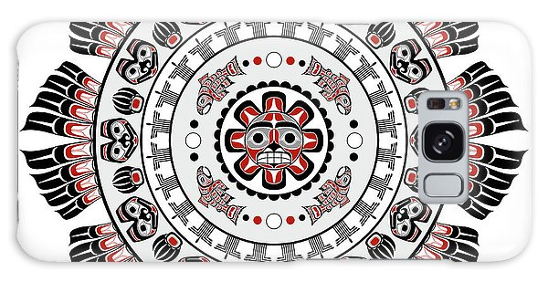Pacific Northwest Native American Art Mandala Galaxy Case