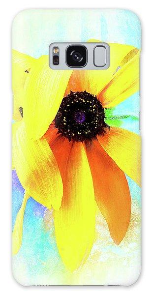 Flopsy - A Charming Wild Black-eyed Susan  Galaxy Case