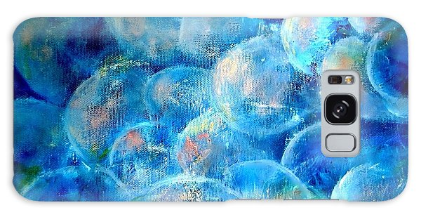 Painterly Bubbles Galaxy Case