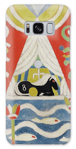 Time Frame Galaxy Case - Painting No 4, A Black Horse, 1915 by Marsden Hartley