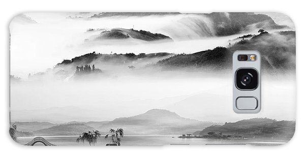 Cloudscape Galaxy Case - Painting Style Of Chinese Landscape For by Nh