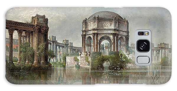 Central America Galaxy Case - Palace Of Fine Arts And The Lagoon, 1915 by Edwin Deakin