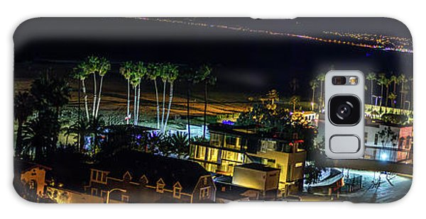 Palisades Park Night - Panorama Galaxy Case