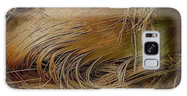 Palm Tree Straw Galaxy Case