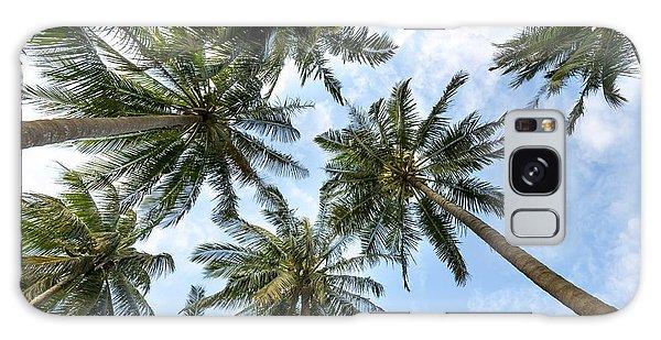 Palms  Beach Galaxy Case
