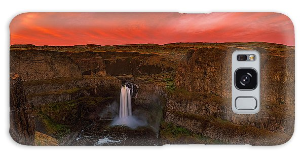 Palouse Falls Galaxy Case