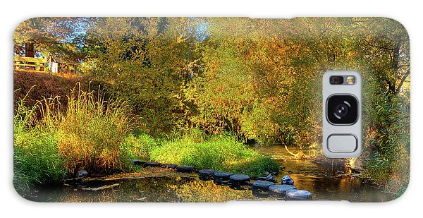 Galaxy Case featuring the photograph Palouse River Reflections by David Patterson