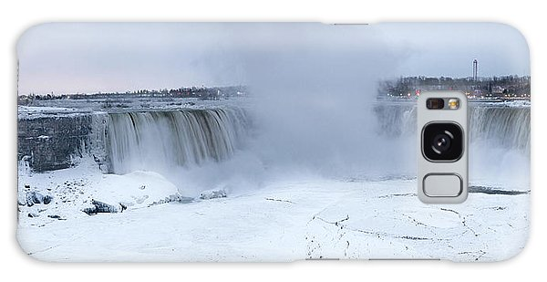 Panoramic View Niagara Falls Galaxy Case
