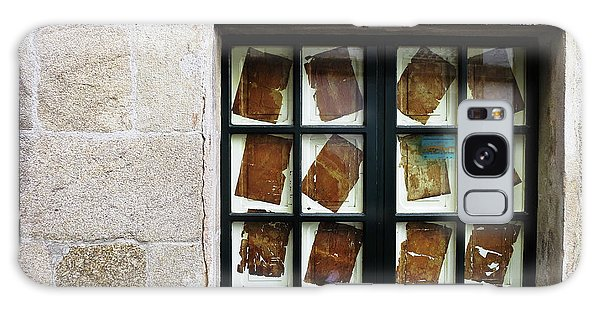 Galaxy Case featuring the photograph Parchment Panes by Rick Locke