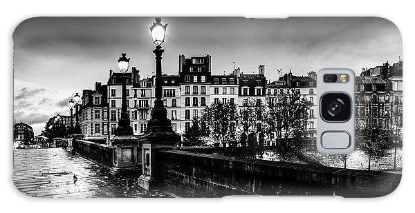 Paris At Night - Pont Neuf Galaxy Case