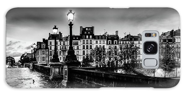 Paris At Night - Pont Neuf Galaxy Case