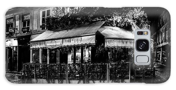 Paris At Night - Rue De Buci Galaxy Case