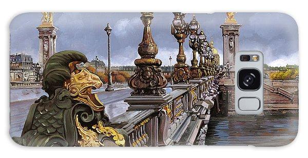 France Galaxy Case - Paris-pont Alexandre Terzo by Guido Borelli