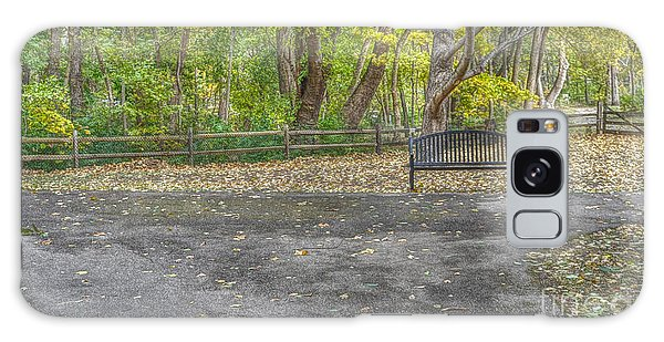 Park Bench @ Sharon Woods Galaxy Case