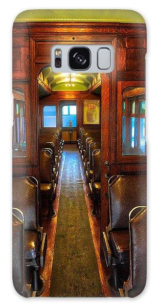Passenger Train Memories Galaxy Case