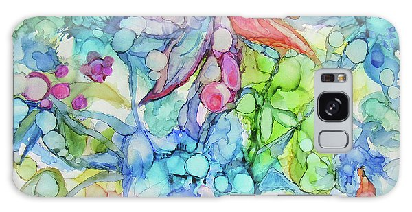 Pastel Flowers - Alcohol Ink Galaxy Case