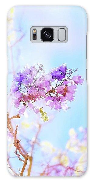 Breeze Galaxy Case - Pastels In The Sky by Az Jackson