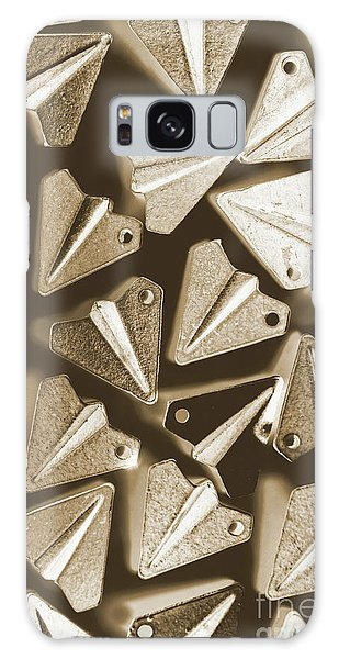 Airplanes Galaxy Case - Patterned In Aviation by Jorgo Photography - Wall Art Gallery