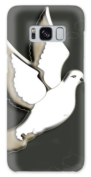 Olive Branch Galaxy Case - Peace Among The Clouds by Cynthia Leaphart