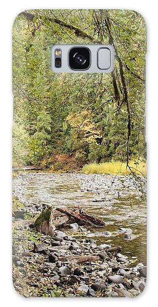 Peaceful Molalla River Galaxy Case