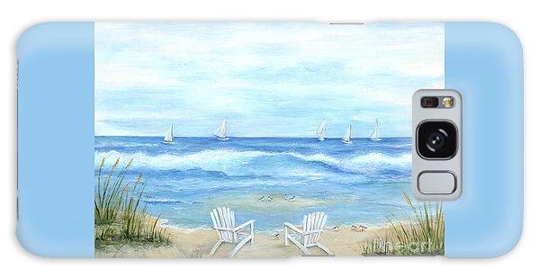 Adirondack Chair Galaxy Case - Peaceful Seascape by Marilyn Dunlap