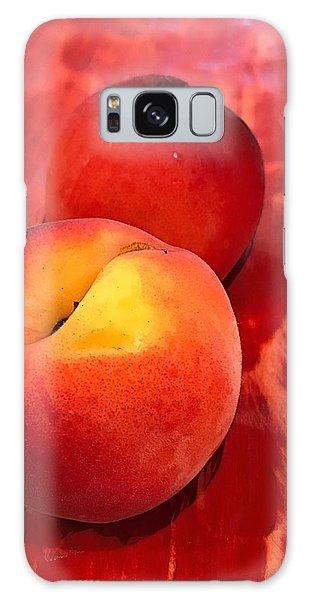 Peachy Galaxy Case