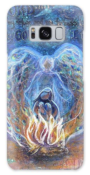 Peacock Angel Galaxy Case