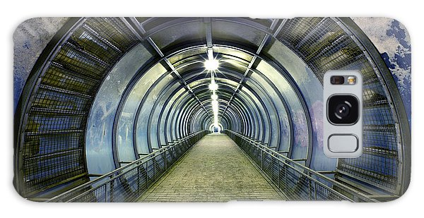 Airport Galaxy Case - Pedestrian Bridge Over The Freeway by Zholobov Vadim