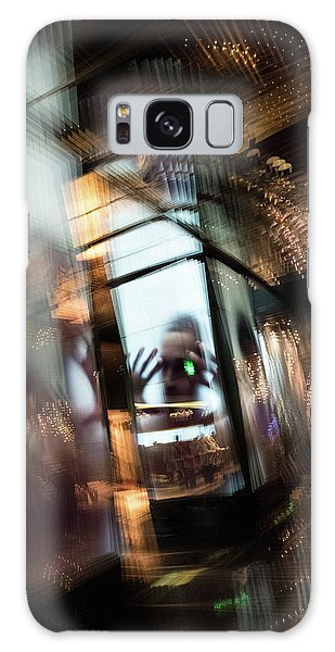 Galaxy Case featuring the photograph Peering Through by Alex Lapidus