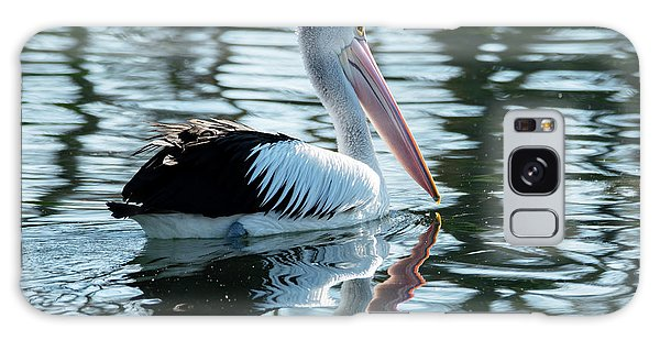 Pelican On The Lake Galaxy Case