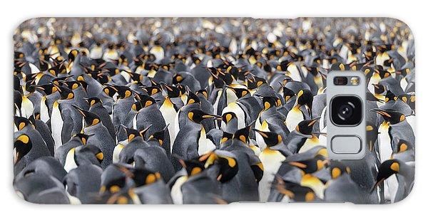 Penguinscape Galaxy Case
