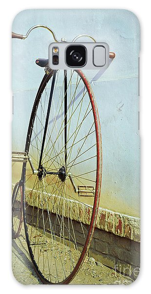Old Road Galaxy Case - Penny Farthing ,high by Unclepepin