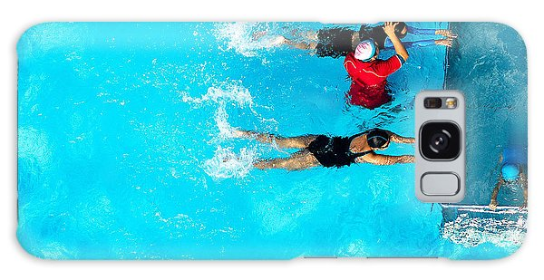 Active Galaxy Case - People Exercising In A Swimming Pool by Mongpro