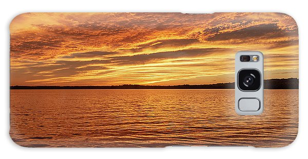 Percy Priest Lake Sunset Galaxy Case
