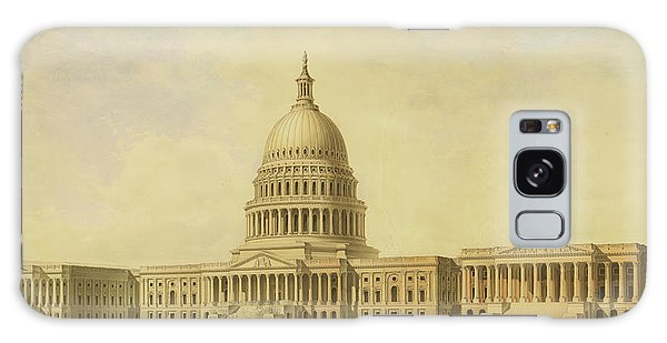 Perspective Rendering Of United States Capitol Galaxy Case